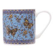 Queens - Blue Story Butterflies Mug