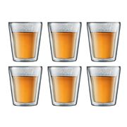 Bodum - Canteen Medium Double-Walled Thermo Glass Set 6pce
