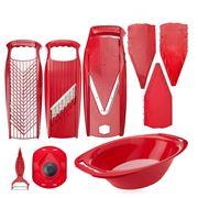 Borner - V5 Mandoline Red Slicer Set 9pce
