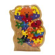 Artiwood - Alphabet Koala Puzzle