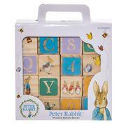 Beatrix Potter - Peter Rabbit ABC Wooden Learning Blocks