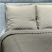 Ann Gish - Diamond Silver Queen Coverlet