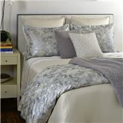 Ann Gish - Terrazzo Quilt Cover Set Silver King 3pce