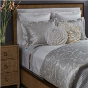 Ann Gish - Diamond King Ivory Coverlet Set