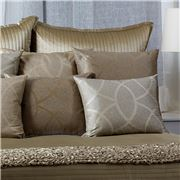 Ann Gish - Starlight European Taupe Pillowcase