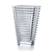 Baccarat - Large Rectangular Eye Vase 29.5cm