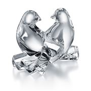 Baccarat - Saint-Valentin Crystal Doves Clear