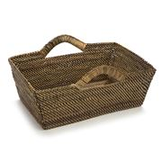 Calaisio - Rectangular Basket with Handles 35.5x28cm