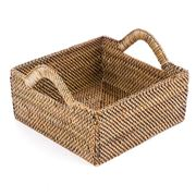 Calaisio - Medium Square Basket with Handles