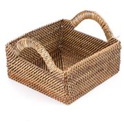 Calaisio - Small Square Basket with Handles 18cm