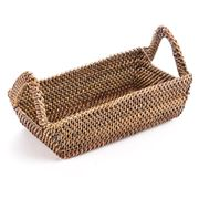 Calaisio - Rectangular Basket with Handles 23x12cm