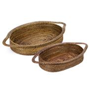 Calaisio - Oval Small & Large Basket Set 2pce