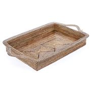Calaisio - Arc Rectangular Tray with Handles 46x28cm