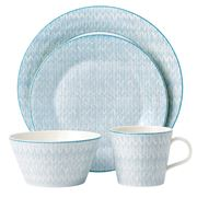 Royal Doulton - Pastels Blue Dinner Set 16pce