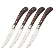 Stanley Rogers - Woodlands Brown Steak Knife Set 4pce