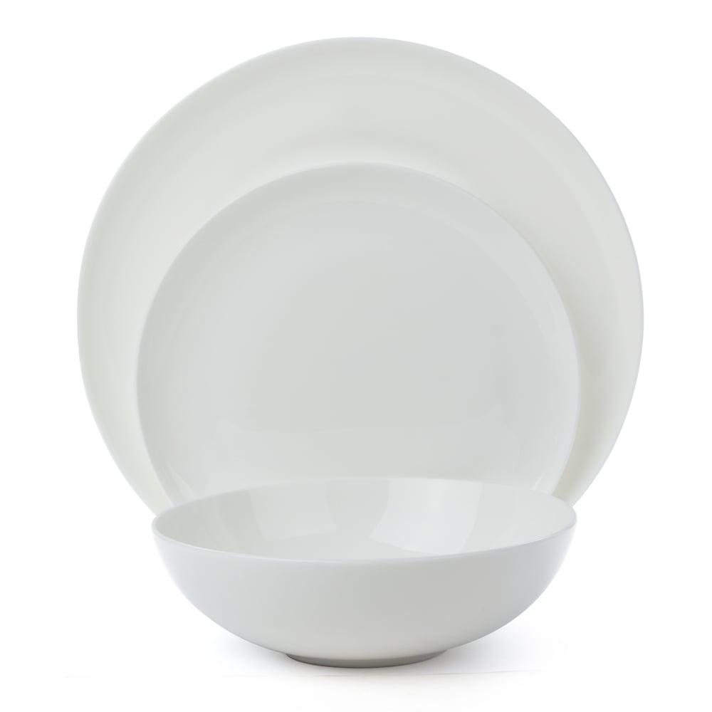 sc 1 st  Peteru0027s of Kensington & Ecology - Canvas White Dinner Set 12pce | Peteru0027s of Kensington
