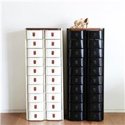 Sagitine - The New York Medium Black Shoe Storage Stand