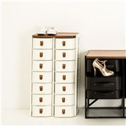 Sagitine - The Shanghai Small White Shoe Storage Stand