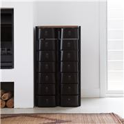 Sagitine - The Shanghai Small Black Shoe Storage Stand