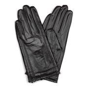 Condura - Marilyn Black Leather Medium-Large Gloves