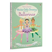 Book - Sticker Dolly Dressing Ballerinas