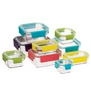 Glasslock - Premium Oven Safe Glass Container Set 9pce