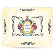 Halcyon Days - HMQ Elizabeth II Vivat Regina Ivory Tray