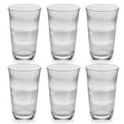 IVV - Denim Clear Highball Tumbler Set 6pce