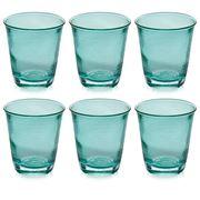 IVV - Denim Turquoise Tumbler Set 6pce