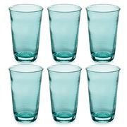 IVV - Denim Turquoise Highball Tumbler Set 6pce