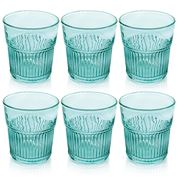 IVV - Industrial Chic Turquoise Water Tumbler Set 6pce