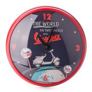 Vespa - Round The World Wall Clock