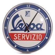 Vespa - Round Service Wall Clock