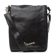 Vespa - Small Black Go Shoulder Bag