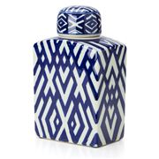 Avalon - Criss Cross Small Ginger Decorative Jar