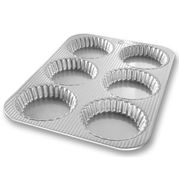 USA Pan - Mini Fluted Tart Pan