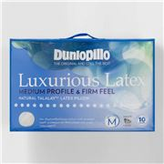 Dunlopillo - Luxurious Latex Medium Profile & Firm Pillow