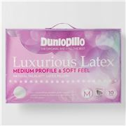 Dunlopillo - Luxurious Latex Medium Profile & Soft Pillow