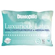 Dunlopillo - Luxurious Latex Dual Contour & Medium Pillow