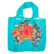 Annabel Trends - Australian Map Reusable Shopping Bag