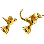 Alessi - Michael Graves Gold Bird & Dragon Whistle Set 2pce