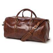 Manufactus - Augusto Chocolate Brown Bag
