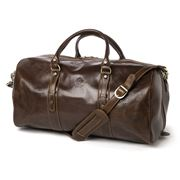 Manufactus - Augusto Dark Chocolate Brown Bag