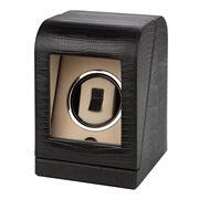 Renzo - Thesius Leather Watch Winding Box Black