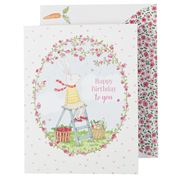 Affirmations - Ruby Red Shoes Happy Birthday to You Card