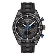 Tissot - PRS 516 Carbon Dial Black Strap Chronograph