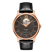 Tissot - Tradition Powermatic 80 Open Heart Anth. Dial Watch