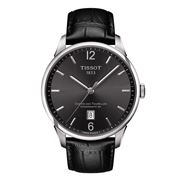 Tissot - Chemin Des Tourelles Powermatic 80 Black Dial Watch