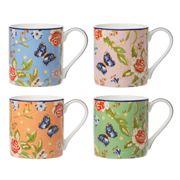 Aynsley - Windsor Cottage Garden Mug Set 4pce