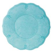 Baci Milano - Baroque & Rock Aqua Dinner Plate